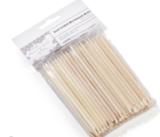 BB Spatulas Dual Ended Wood Stick UITVERKOCHT_