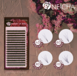 Neicha Bouquet of Rose lashes Mix - B Curl 0.04