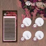 Neicha Bouquet of Rose lashes Mix - C Curl 0.04