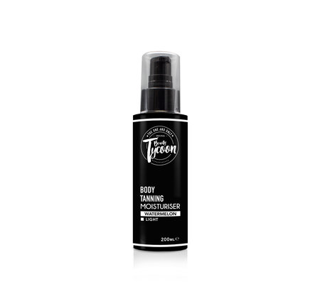 BEAUTY TYCOON Face & Body Moisturiser 200ml 6% DHA