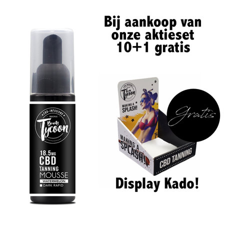 10+1 Gratis / Medium - mouse  - 50ml + Gratis Display