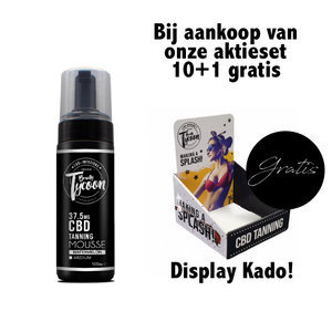 10+1 Gratis / Rapid - Spraytan  - 100ml + Gratis Display