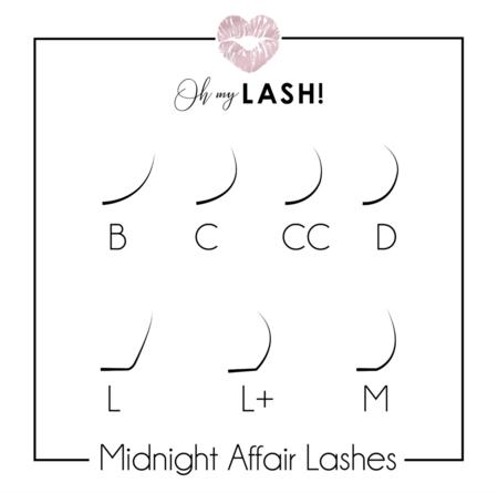 Midnight Affair – NB-Curl  MIX