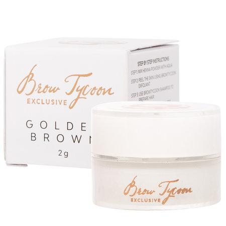 NEW! Browtycoon Exclusive Henna Golden Brown