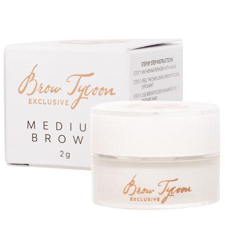 NEW! Browtycoon Exclusive Henna Medium Brown