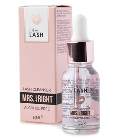 MRS. (ALWAYS) RIGHT – Alcohol Free Lash Cleaner