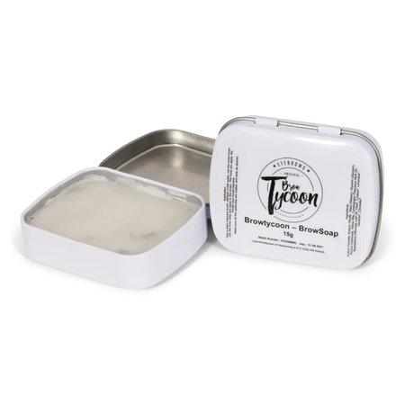 Browsoap 10g (soft wax soap) (tijdelijk in een nieuwe verpakking