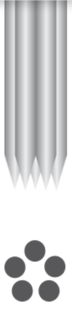 PMU - Needles 1R-0.30mm