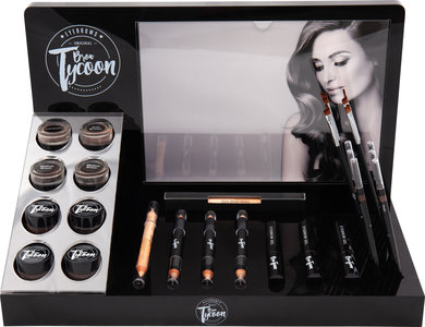 BrowTycoon® Make-up Presentatie- en Verkoopdisplay